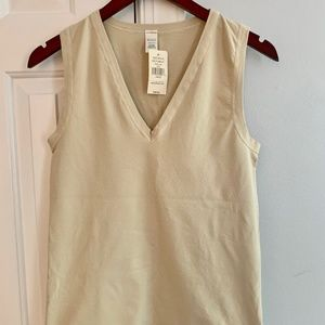 Banana Republic Nude Shapewear V Neck Tank